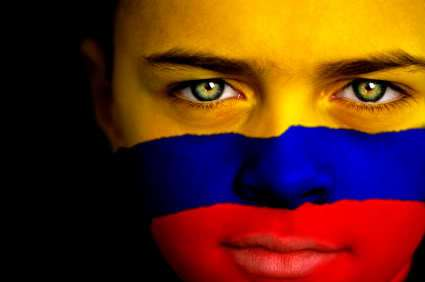 colombian-face-and-flag